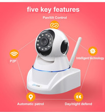 Dome Camera Style and Pan Tilt Technology Two Way Audio Wifi IP Camera