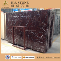 Elegant Red Marble Tile Indoor Flooring Tiles Hotel Lobby Wall Decoration Elazig Cherry Marble