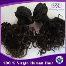 Hc Remy Hair remy romance curl wholesale hair bundle