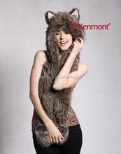 Faux Fur Animal Hat,Earflap winter Hat, Winter Animal hat