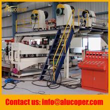 high speed aluminium composite panel line/machine