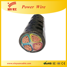 Low voltage underground power cable armored cable