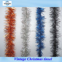 Vintage Christmas tinsel with glass from Shenzhen factory