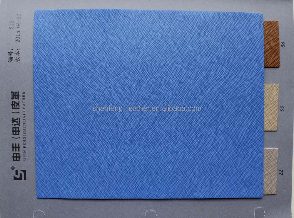 2016 Prada saffiano cross pattern pu leather for handbags and ...