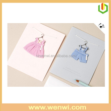 2015 New design new born baby greeting card