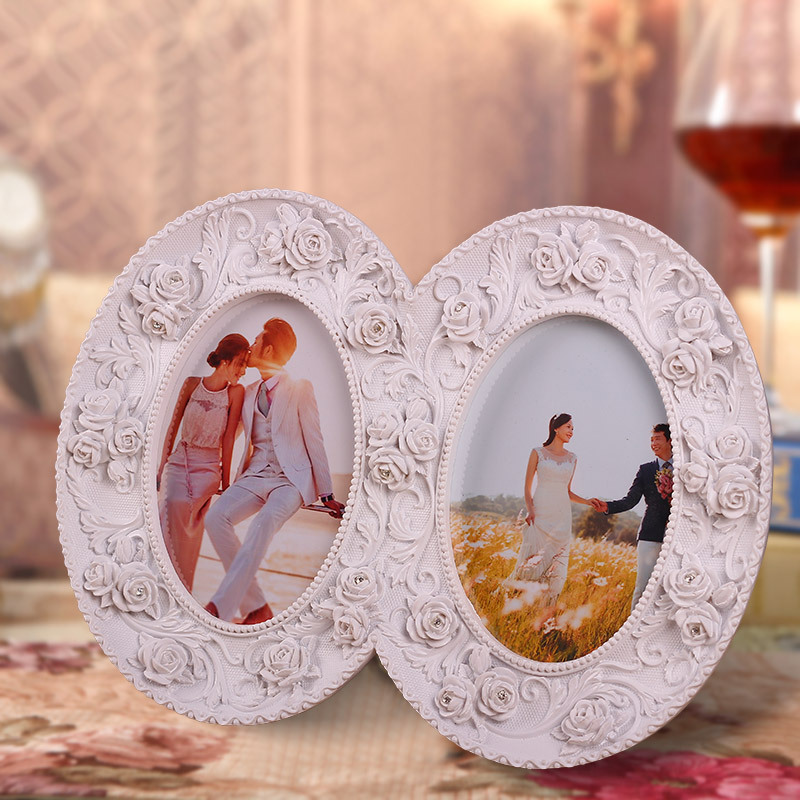 Resin 3d Art Wall Decor Picture Frame White 3 5 X5 Two