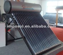 Imposol Solar Water Heater (colorful steel)