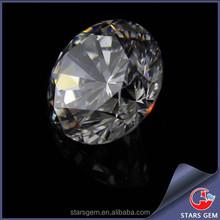 Round diamond cut hot sale cubic zirconia