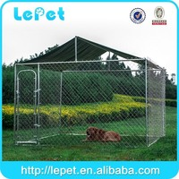For AUS market large outdoor galvanized chain link dog run fence panel
