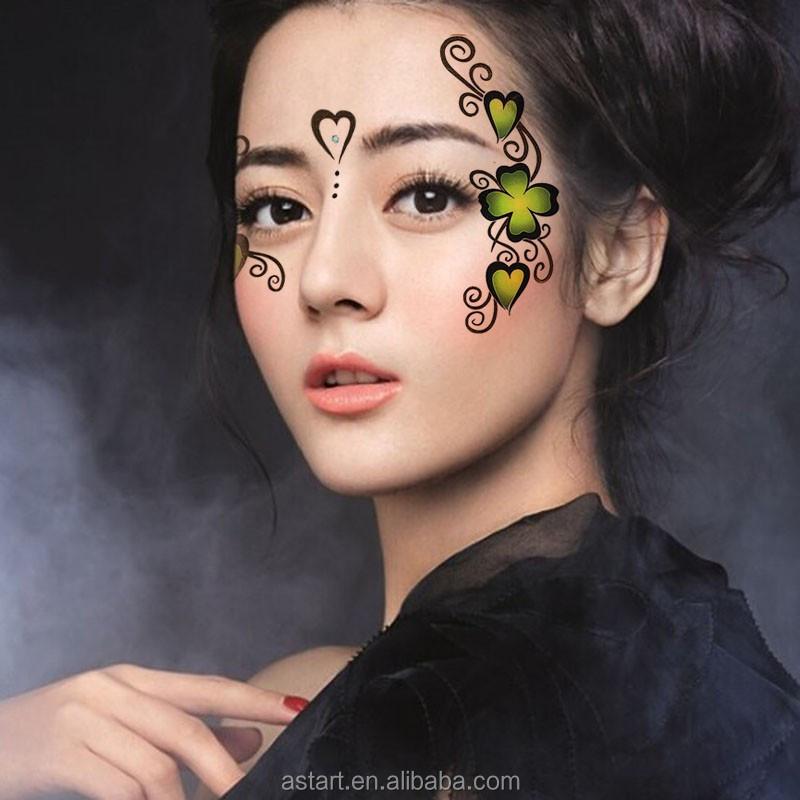 temporaire visage masque sourcil de tatouage lw003 tatouage ph m re id de produit 60484640009. Black Bedroom Furniture Sets. Home Design Ideas