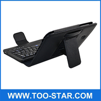"""7"""" Bluetooth Keyboard Case for Tab 3 Andriod Tablet Leather Case with Keyboard for Samsung Tab3 7"""""""
