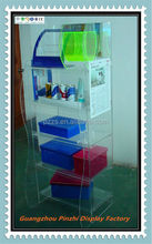Experienced manufacturer provide arcylic stone shoe display case YJ-175