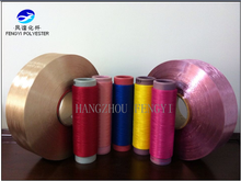 100% polyester dope dyed Draw Textured Yarn DTY