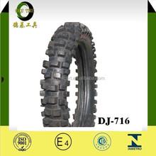 4.60-17 DJ-716 SOUTH AMERICA REAR TIRE DOT certificate Motorcycle Tire