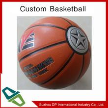 Customized 7# Shining panels 8 pu basketball