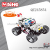5CH DIY car remote control dancing car,metal construction remote control car toys