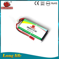 ultra thin rechargeable 1000mah 3.7v rc helicopter lipo battery