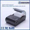 CARAV 58mm portable mobile thermal receipt printer USB bluetooth mini printer