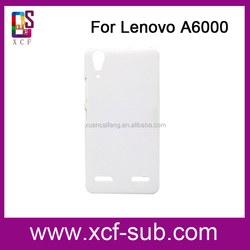 3D sublimation DIY case mobile phone cover for Lenovo A6000