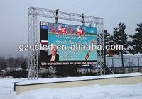 big screen outdoor led tv outdoor waterproof led screen tv 6mm smd outdoor led screen
