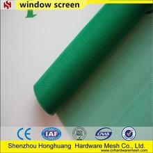 beautiful green nylon window screens