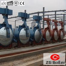 China aerated autoclaved concrete block cheap autoclave machine