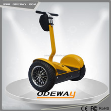 Street legal Two Wheel Balance Electric Scooter with big wheels