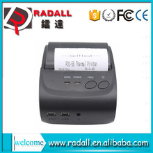 Trade Assurance 5802LD 58mm bluetooth thermal printer andriod smartphone/pc/computer mini cheap printer