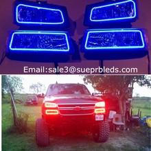 DC12v Chevy headlight auto led car light bulb smd angel eye rings
