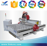Easy operation multihead cnc router/3.0kw spindle cnc marble engraving machine