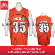 Custom subliamtion college basketball uniforms jerseys