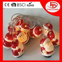 ce christmas light decorative santa claus shaped new style controlled string light new led string light