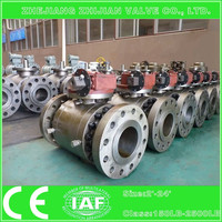 BS 5351 top entry trunnion mounted forged ball valve for South America Market