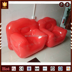 2015 Attractive quality portable PVC inflatable sofa chair for sale