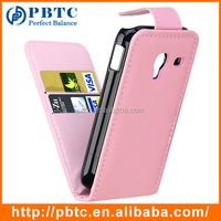 Set Screen Protector Stylus And Case For Samsung Galaxy Ace Plus S7500 , Pink Leather Wallet Smart Phone Accessories