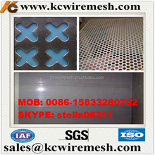 Manufacture!!!! Cheap!!!! KANGCHEN Diamond Shaped Opening Perforated Metal Sheet building