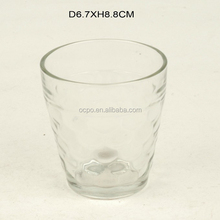 Cheap High quality 200ml clear coffee cups glass and clear glass tea cups