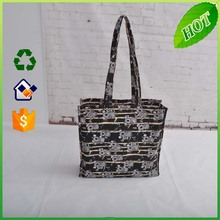 100% recycled cotton tote bags