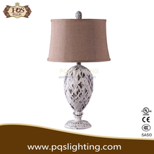 Elliptical body and artistic home decoration table lamp