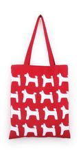 wang wang dog cotton bag