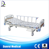 DR-G818 FDA/CE/ISO Approved Hot Sales Single Crank Cheap Hospital Bed