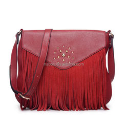 Fashion special shoulder hand bag real leather bag
