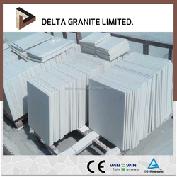 Low Cost Excellent Weather Durability white marble stone