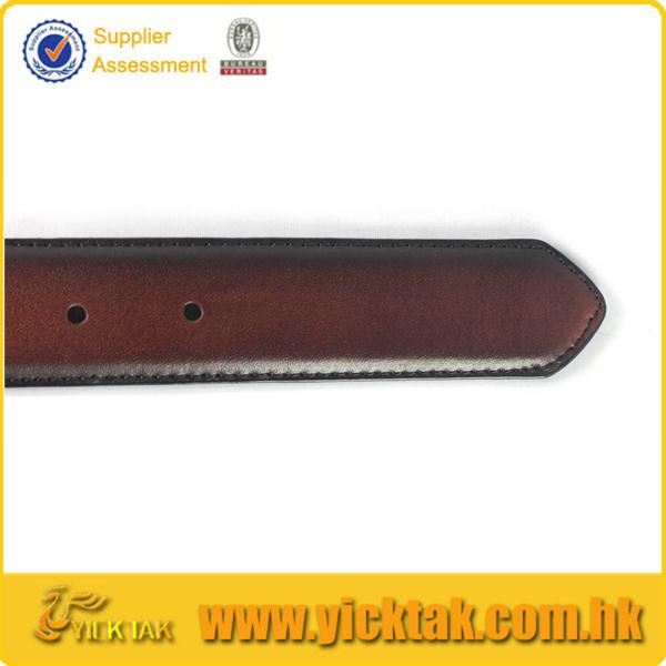 2015 Color Matched Oily Genuine Leather Belt For Men, Mans Cow Hide Belt