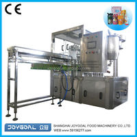 Premade bag liquid packin/premade bag sauce packing machine/honey filling machine