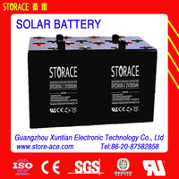 Deep cycle Battery 2v 3000ah Sealed Rechargeable Solar Accumulator (SRD3000-2)