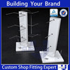 retail store rotaing display swivel scarf rack