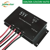 pwm li-ion 12/24v intelligent solar battery charge controller