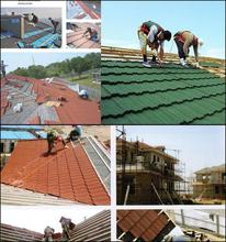 high quality colorful stone chip coated steel roofing tile asphalt shingles sale steel roofing manufacturer