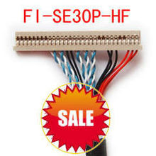 LVDS cable FI-SE30P-HF_S8. For AUO,LG,CMO,SAMSUNG Innolux, Chimei LCD-TFT Monitor. LVDS cable for MINI-ITX Motherboard